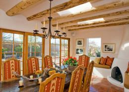 Classic Santa Fe Cozy Dining Room