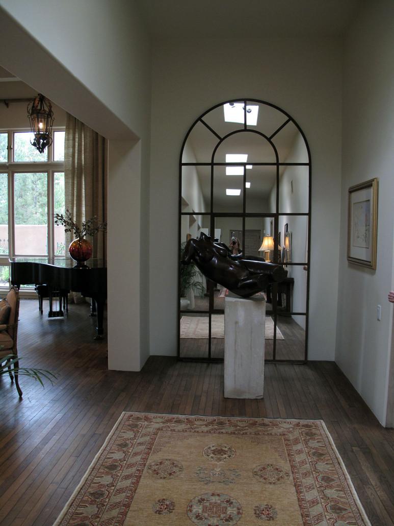 European Eclectic Interior Design - Entrance Gallery