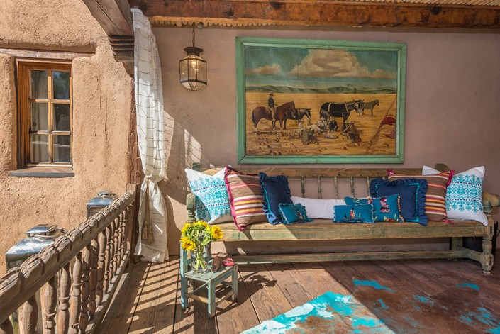 Stivers and Smith Interiors - Show House Santa Fe New Mexico 2015