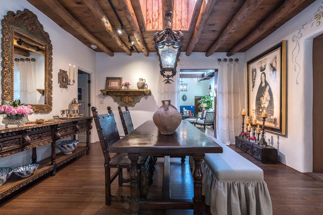 Show House Santa Fe 2016 - Dining Room Full View