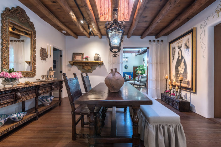 Show House Santa Fe 2016 - Dining Room Full View
