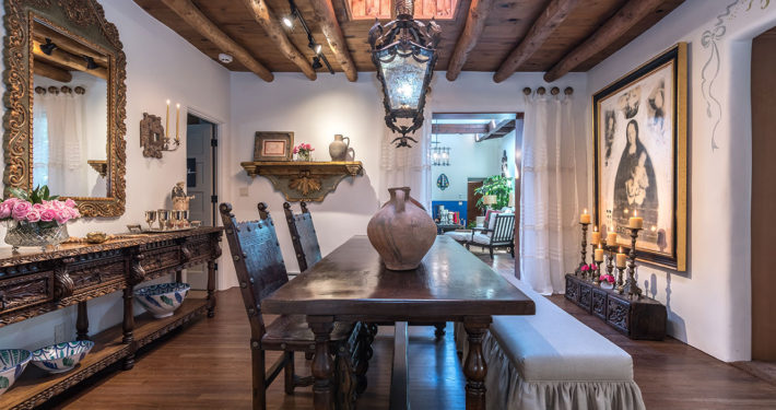Show House Santa Fe 2016 Dining Room Full View