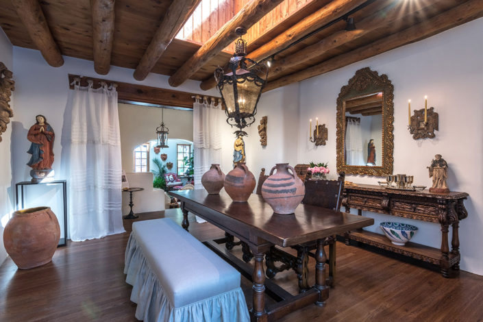 Show House Santa Fe 2016 - Dining Room Accents 1